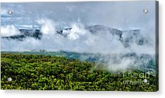 Clearing Storm West Virginia Highlands Acrylic Print by Thomas R Fletcher