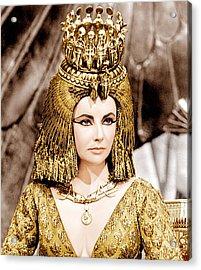 Cleopatra, Elizabeth Taylor, 1963 Acrylic Print by Everett