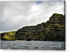 Acrylic Print featuring the photograph Cliffs Of Moher From The Sea by RicardMN Photography