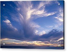 Cloud Formations Acrylic Print by Mary Van de Ven - Printscapes