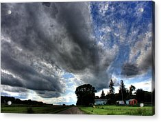 Cloud Lane Acrylic Print