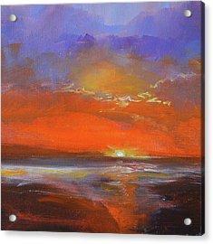 Cloud Light Acrylic Print by Nancy Merkle