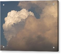 Acrylic Print featuring the photograph Clouds 3 by Douglas Pike