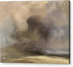Cloudy Horizon Acrylic Print by Lonnie Christopher