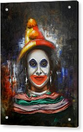 Clown Acrylic Print