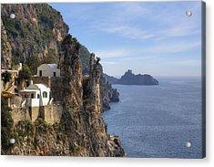 Coast Of Amalfi Acrylic Print by Joana Kruse
