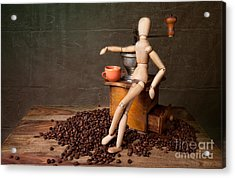 Coffee Break Acrylic Print