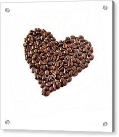 Coffee Heart Acrylic Print