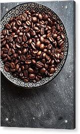 Coffee Acrylic Print by Nailia Schwarz