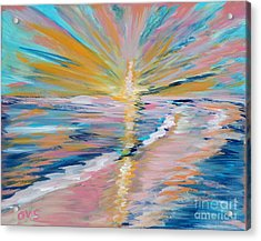 Collection. Art For Health And Life. Painting 5 Acrylic Print