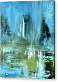 Original For Sale. Collection Art For Health And Life. Painting 9 Acrylic Print