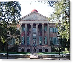 College Of Charleston Acrylic Print by Richard Marcus