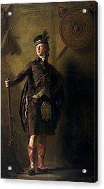 Colonel Alastair Ranaldson Macdonell Of Glengarry  Acrylic Print