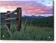 Colorado Glory Acrylic Print