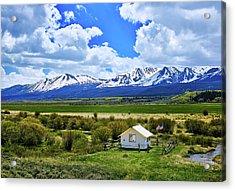 Colorado Mountain Vista Acrylic Print by L O C