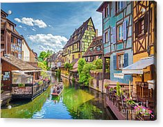 Colorful Colmar Acrylic Print by JR Photography