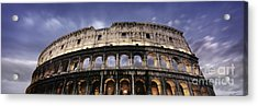 Colosseum Acrylic Print by Rod McLean