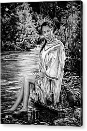 Come Sit With Me Acrylic Print by Andrew Read
