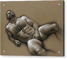 Comfort  Acrylic Print by Chris Lopez