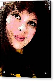 Commission Work Acrylic Print by Mary Sonya  Conti