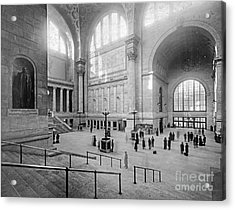Concourse Pennsylvania Station New York Acrylic Print
