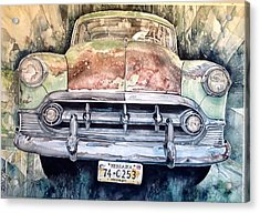 Condon's Coupe Acrylic Print by Lance Wurst