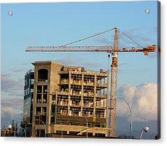 Construction 01 Acrylic Print by Attila Jacob Ferenczi