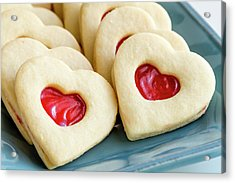 Acrylic Print featuring the photograph Cookie Love by Teri Virbickis