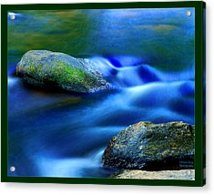 Cool Color Acrylic Print by William Bray