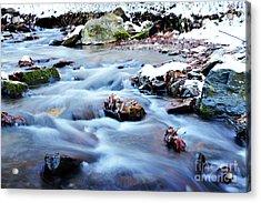 Cool Waters Acrylic Print