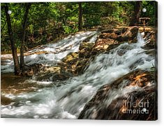 Cooling Waters At The Chickasaw National Recreation Area Acrylic Print by Tamyra Ayles