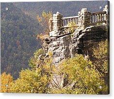 Cooper's Rock Overlook Acrylic Print