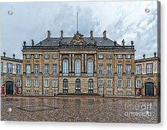 Acrylic Print featuring the photograph Copenhagen Amalienborg Palace by Antony McAulay