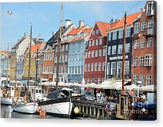 Copenhagen Harbor II Acrylic Print by Andrea Simon