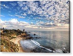 Corona Del Mar Shoreline Acrylic Print