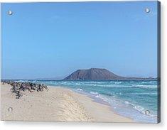 Corralejo - Fuerteventura Acrylic Print by Joana Kruse