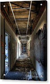 Corridor Acrylic Print by Svetlana Sewell