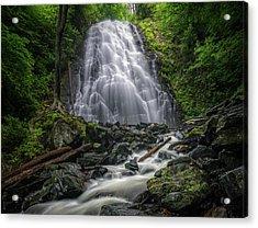 Crabtree Falls North Carolina Acrylic Print