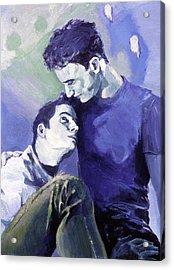 Cradle My Heavy Heart Acrylic Print