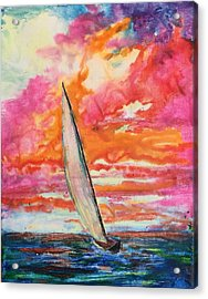 Crayola Collection Acrylic Print