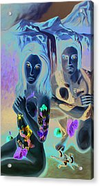 Creation Acrylic Print by Matthew Lake