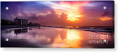 Crescent Beach September Morning Acrylic Print