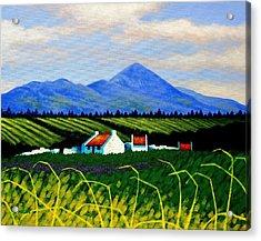 Croagh Patrick County Mayo Acrylic Print by John  Nolan