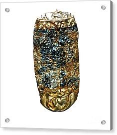 Crushed Beer Cans. Acrylic Print by Bernard Jaubert