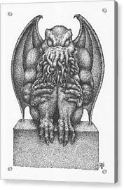 Cthulhu Idol Acrylic Print