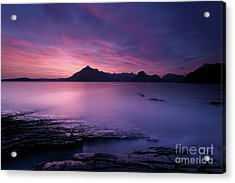Cuillins At Sunset Acrylic Print