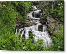Cullasaja Falls Acrylic Print