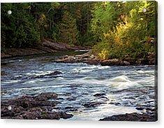 Current River Rapids Acrylic Print