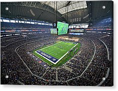 Dallas Cowboys Att Stadium Acrylic Print