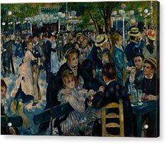 Dance At Le Moulin De La Galette  Acrylic Print